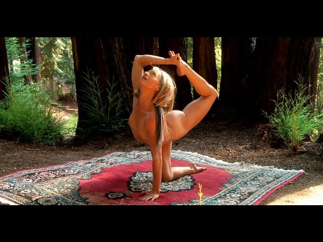 Pure Nude Yoga - Redwood Forest Yogini- Beginning Intermediate Instruction (Trailer)