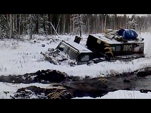 ГТ-МУ (ГАЗ-73), ГТ-СМ (ГАЗ-71) Газушки продолжают наматывать бездорожье на траки! Под ...