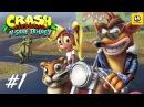 Crash Bandicoot: Warped (N. Sane Trilogy) – Часть 1 (прохождение с комментариями) [PS4]