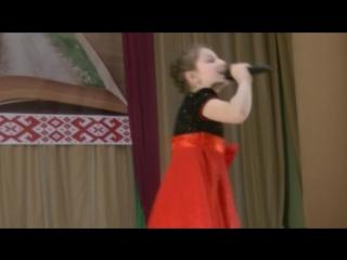 Конкурс.2-я песня Мне сегодня скучно в исполнении Эвелины Дроздовой-солистки эстрадной студии Созвездие талантов.
