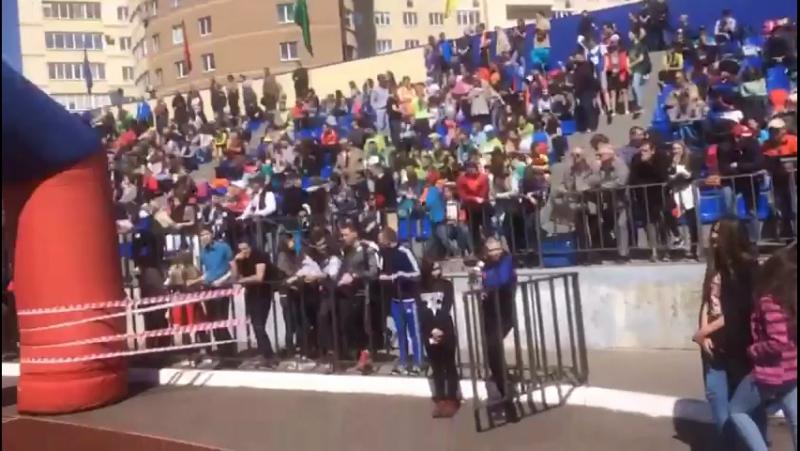 88-я краевая легкоатлетическая эстафета на призы газеты Звезда, посвящённой 72 годовщине победы в Великой Отечественной Войне