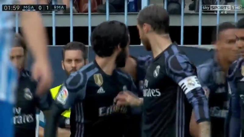 Cristiano Ronaldo Goal - Malaga vs Real Madrid 0-1 - La Liga 21/05/17