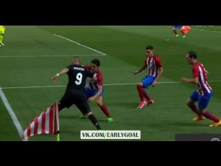 Атлетико - Реал Мадрид 2:1 Иско 42' Дриблинг Бензема!