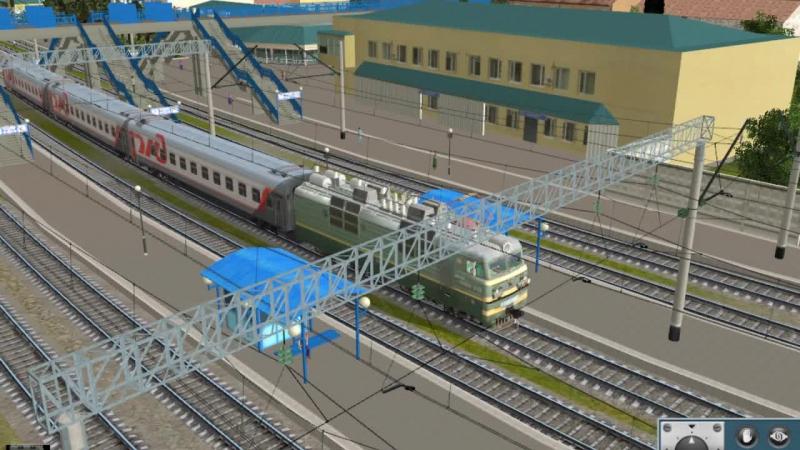 [TS12]Адлер-Гагра на поезде