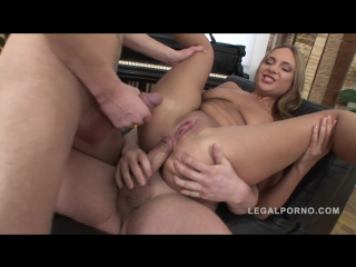 LegalPorno Maria in double anal threesome NR252dp dap ass fuck gonzo