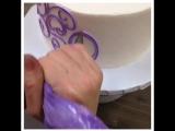 Как вам такое украшение торта? Мне кажется,очень красиво!
