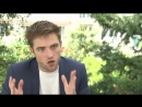 Interview of Robert Pattinson with Sergei Sholokhovs Silent House [Russia]