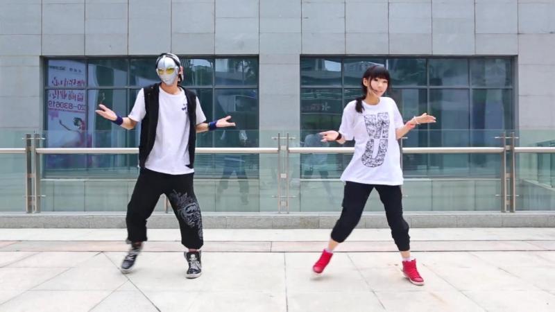 【螺主任 x 黒kuromi】-[[Bad Apple][烂苹果]-[新画风w_宅舞_舞蹈_bilibili_哔哩哔哩弹 av2243724