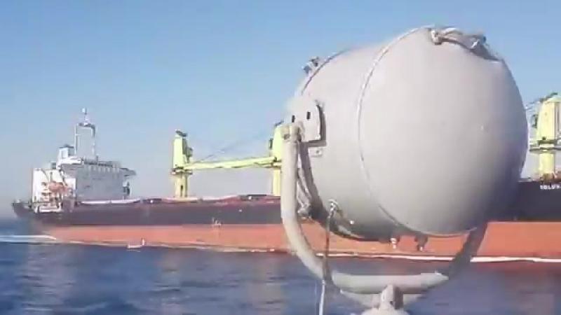 Российский сухогруз протаранил катер турецкой береговой охраны