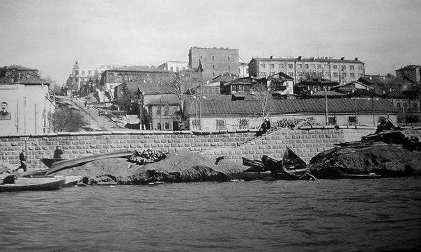 Самара. Вид на город с Волги. 1925 год.