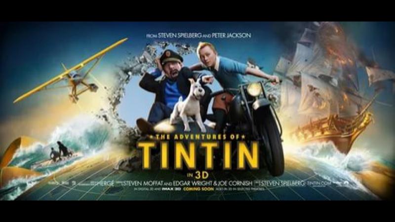 Приключения Тинтина: Тайна Единорога - Русский Трейлер (2011)