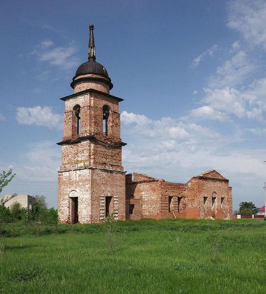 Неопалимовская церковь. Безенчукский район, село Никольское. 2014г Авт