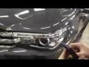 Установка сигнализации М96 StarLine Toyota Hilux 2017г. Глушение штатного радиоканала.