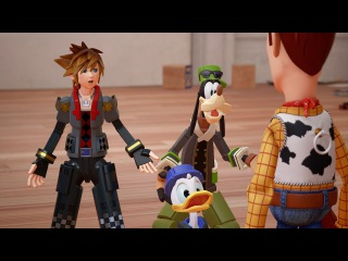 Kingdom Hearts 3 in Toy Story