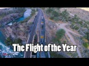 Flight of the Year Trains, Bridges, Rapids, Mountains, Sunset, Gapping, Perching, Powerlooping