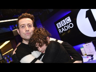 Matty Healy from The 1975 co-hosts The BBCR1's Breakfast Show January 2017 (part 3)