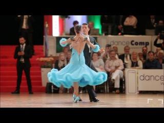 Dumitru Doga - Sarah Ertmer | Solo Quickstep | danceComp Wuppertal 2017 - WDSF WO STD