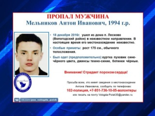 Двое молодых людей бесследно исчезли в Вологодской области
