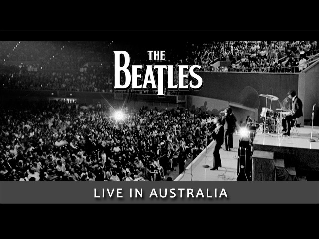 Beatles -- Live -- Australia Concert [ film w/ great audio! ]
