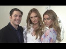 Victoria's Secret Angels Romee Strijd and Stella Maxwell Chat with Arthur Kade