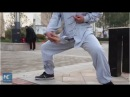 Don't try it yourself! Iron Crotch Kung Fu master shows skills