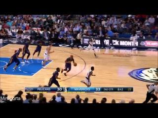 Dallas vs New Orleans Баскетбол. НБА. Даллас Маверикс - Нью Орлеан Пилеканс 25.02.2017