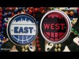 NBA. ALL STAR GAME West - East Баскетбол. НБА. Матч всех звезд. Запад - Восток 20.02.2017