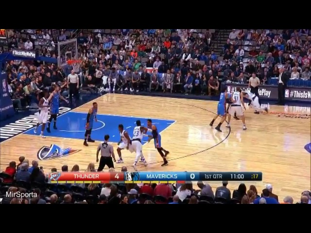 Dallas vs Oklahoma City Баскетбол. НБА. Даллас Маверикс - Оклахома Сити Тандер 06.03.2017