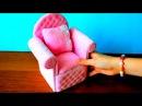 Как сделать КРЕСЛО для КУКОЛ 🌟 МЕБЕЛЬ для кукол Барби своими руками КУКОЛЬНЫЙМИР DIY Мастер класс