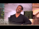 Denzel Does a Mean Jay Z Impression on The Queen Latifah Show