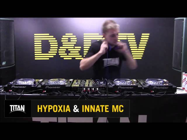 DBTV Live 212 Titan Records takeover - Hypoxia