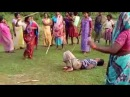 Mothers revenge Child rapist is tied up and beaten by women in India