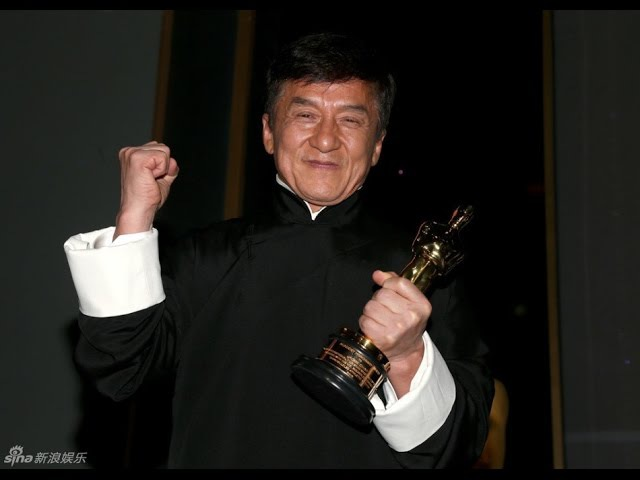 Jackie Chan receives his Honorable Oscar Джеки Чан получает Оскар RUS SUB