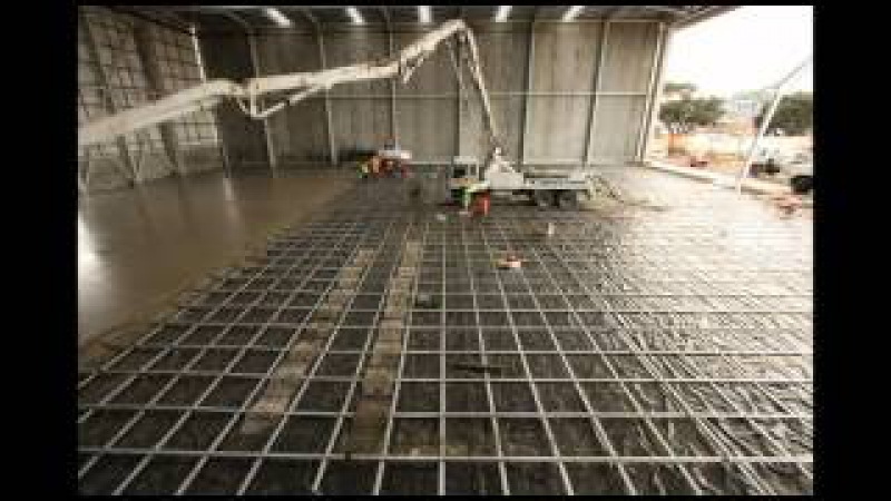 Firth's amazing post-tension floor slab time-lapse video -- 10 hours work in 5 minutes!