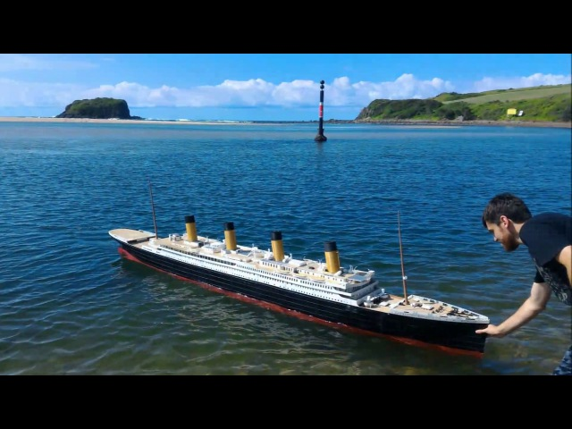 Worlds Biggest 3d Printed Ship! RMS Titanic