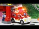 Мультик про машинки. Пожарная машина, скорая помощь и вертолёт. МанкиМульт