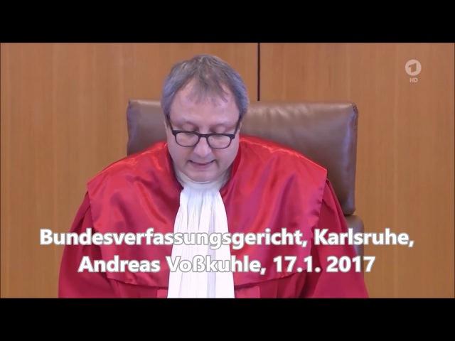 Das Bundesverfassungsgericht verkündet, daß die BRD kein Staat des Deutschen Volkes ist