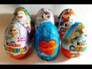 Kinder surprise Toys Eggs unboxing Kinderino professions Frozen