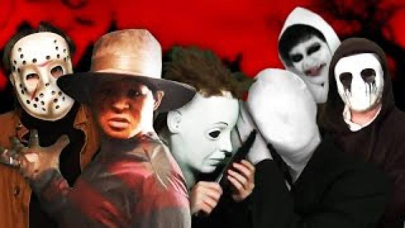 Creepypastas vs Slashers JMB Rap Battle