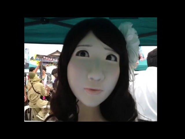 怖すぎる AKB48柏木由紀ゆきりんロボ ニコニコ超会議in長野 Yukirin Robot