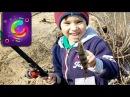 Детская рыбалка на поплавочную удочку по-взрослому с папой