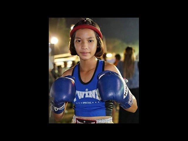 Phetjeeja - Девочка боец муай-тай дерется с мальчиками и побеждает. Жесть что творит!