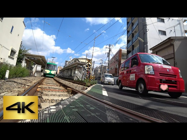 TOKYO KICK SCOOTER RIDE | ⑦ Shoin-jinja-mae ⇒ Wakabayashi (Setagaya Line) 松陰神社前 ⇒ 若林 (世田谷線) [4K]
