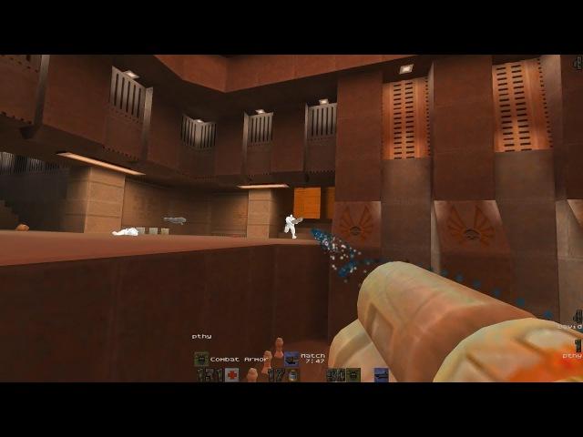 QCon17 Quake 2 final – David vs. Pthy (ztn2dm3)