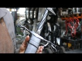 Forging a Warlock sword, the complete movie.
