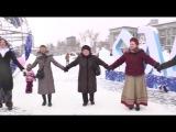 Самара С ОЛЕНЕМ!!! КРУТО В ХОРОВОДЕ СПЕЛИ! 4 песни - песенный флешмоб