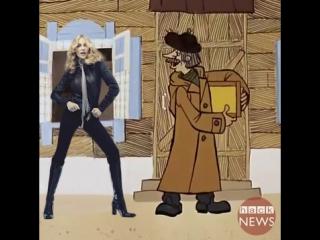Курьер Fed-ex не узнал Мадонну и отказался отдавать ей посылку