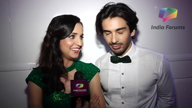 Mohit Sehgal Sanaya Iranis Photo Shoot For Nach Baliye 8 _ Exclusive Intervie