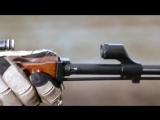 Замедленная сьемка как работает АК-47