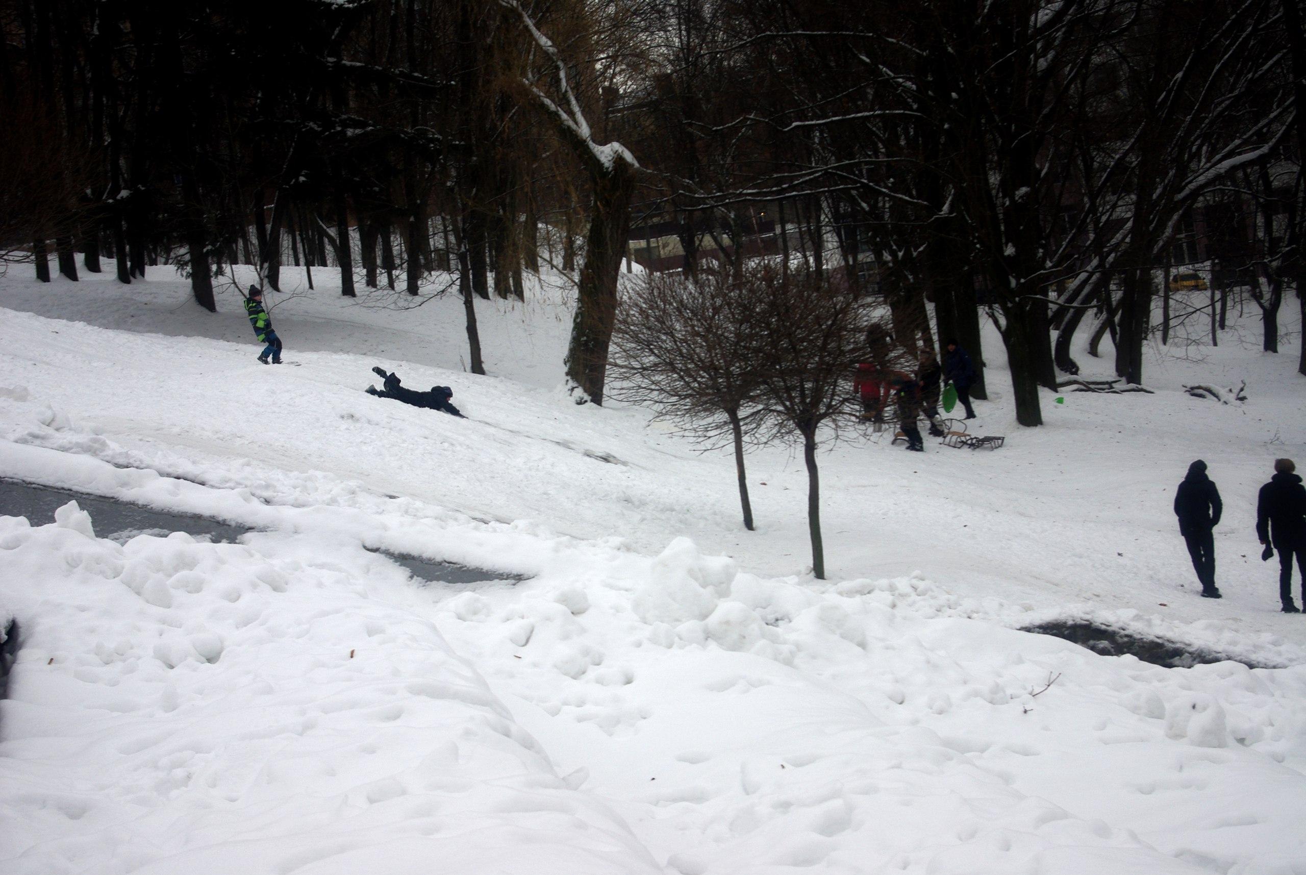 зимний Харьков 2017